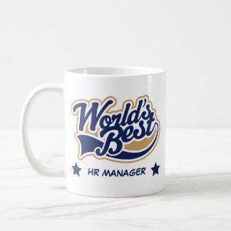 World's Best HR Manager occupation Basic White Mug