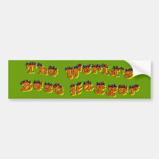 World's Best Hugger Bumper Stickers