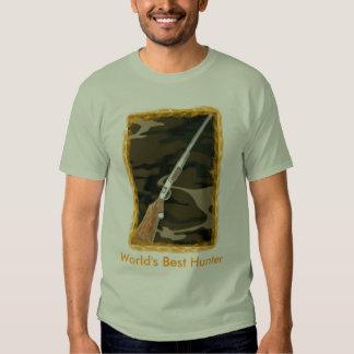 World's Best Hunter Tee Shirt