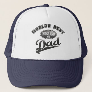 World's Best Husband & Dad Trucker Hat