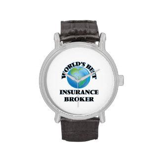 World's Best Insurance Broker Watches