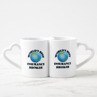 World's Best Insurance Broker Lovers Mug
