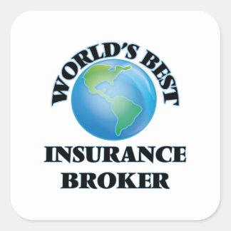 World's Best Insurance Broker Sticker