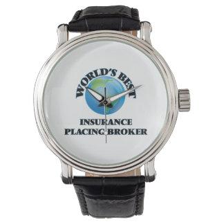 World's Best Insurance Placing Broker Wristwatch