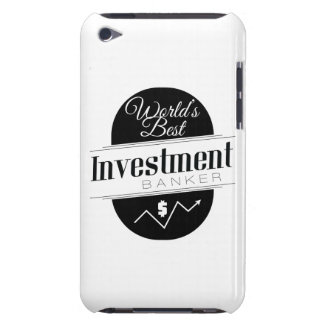 World's Best Investment Banker Case-Mate iPod Touch Case