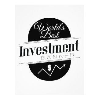 World's Best Investment Banker Flyers