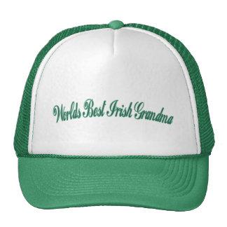 Worlds Best irish Grandma Cap