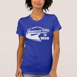 World's Best Japanese Chin Mom Tee Shirt