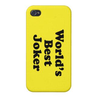 World's Best Joker iPhone 4/4S Cases