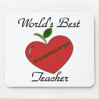 World's Best Kindergarten Teache Mouse Mat