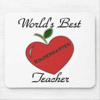 World's Best Kindergarten Teache Mouse Pad