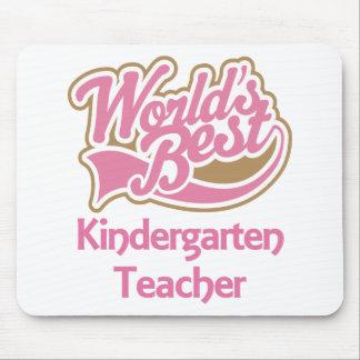 Worlds Best Kindergarten Teacher Mousepads