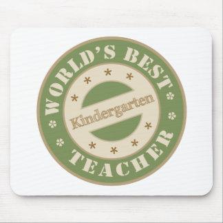 Worlds Best Kindergarten Teacher Mouse Pad