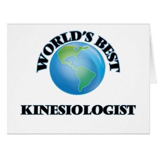 World's Best Kinesiologist Card