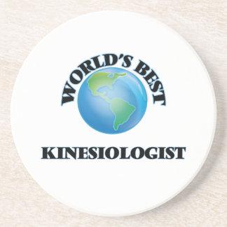 World's Best Kinesiologist Coasters