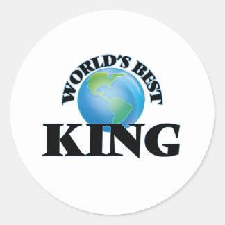World's Best King Sticker