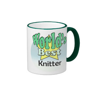 World's best Knitter Coffee Mug