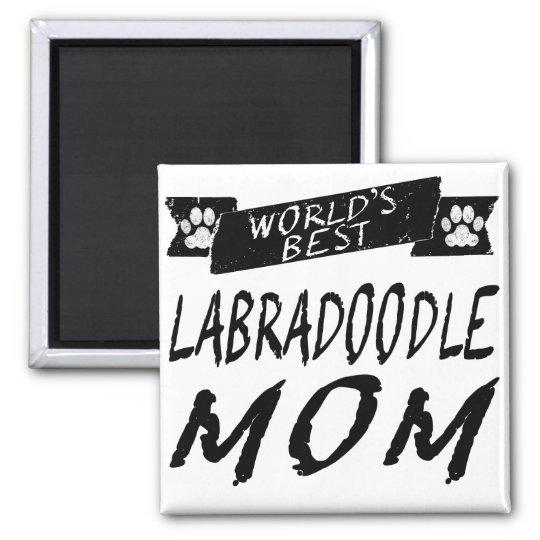 World's Best Labradoodle Mum Magnet