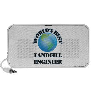 World's Best Landfill Engineer iPhone Speaker