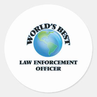 World's Best Law Enforcement Officer Sticker