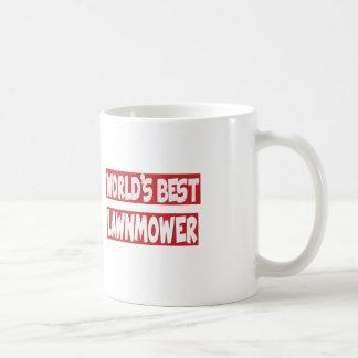World's Best lawnmower. Coffee Mugs