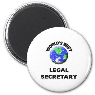 World's Best Legal Secretary Magnets