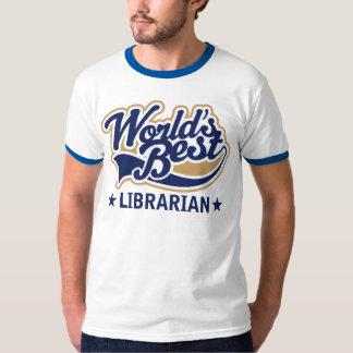 Worlds Best Librarian Gift T-Shirt