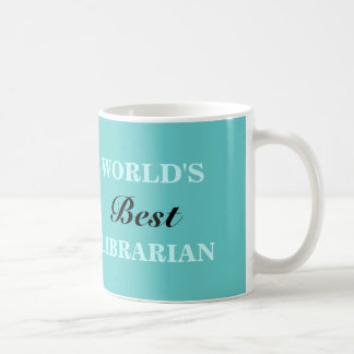 World's best Librarian mug