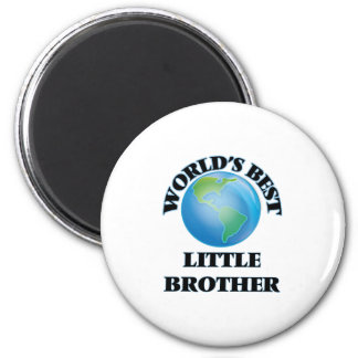 World's Best little Brother Magnet