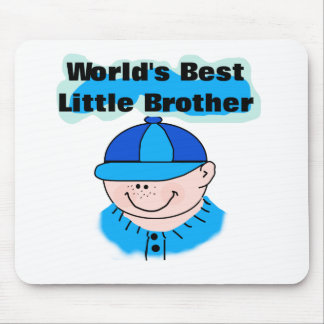 World's Best Little Brother Mouse Pad