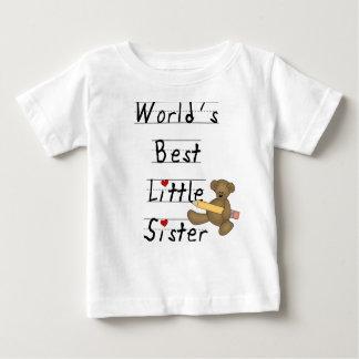 World's Best Little Sister Baby T-Shirt