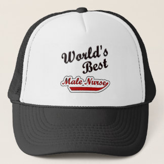 World's Best Male Nurse Trucker Hat