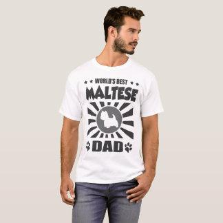 WORLD'S BEST MALTESE DAD T-Shirt