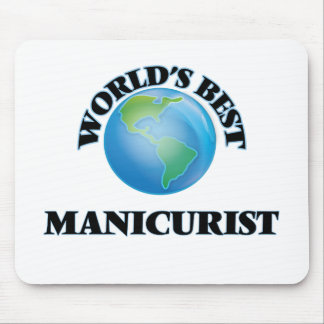 World's Best Manicurist Mousepad