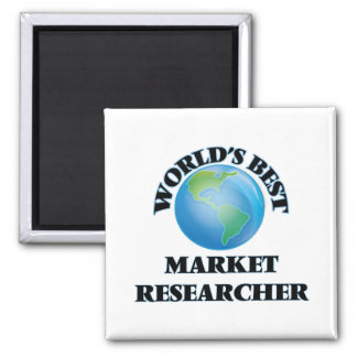 World's Best Market Researcher Fridge Magnet