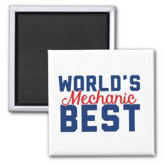 World's Best Mechanic Magnet