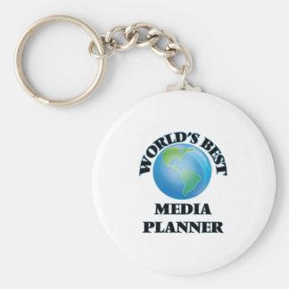 World's Best Media Planner Key Chains