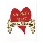 World's Best Medical Assistant Postcards