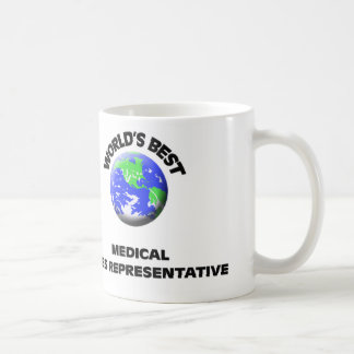 World's Best Medical Sales Representative Basic White Mug