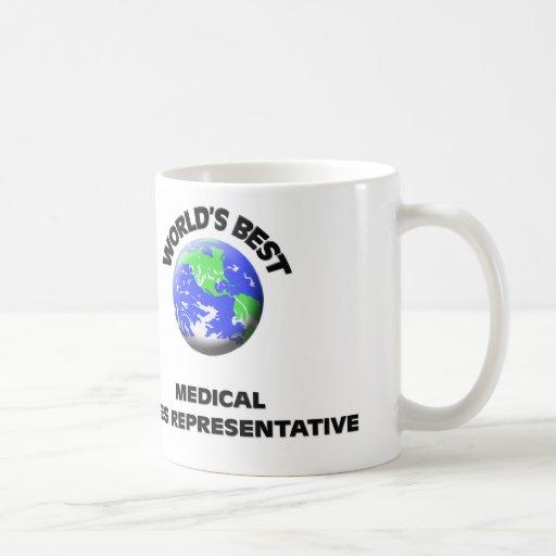 World's Best Medical Sales Representative Coffee Mug