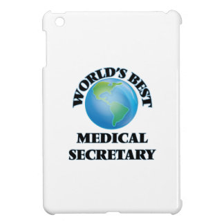 World's Best Medical Secretary iPad Mini Case
