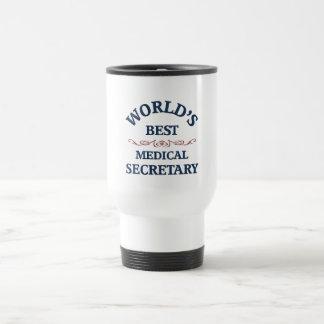 World's best Medical Secretary Stainless Steel Travel Mug