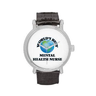 World's Best Mental Health Nurse Wrist Watch