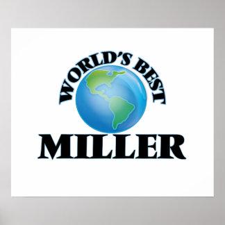 World's Best Miller Print