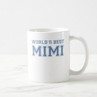 Worlds Best Mimi Basic White Mug