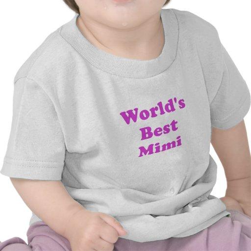 Worlds Best Mimi Shirt