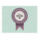WORLDS BEST MOM BADGE PURPLE