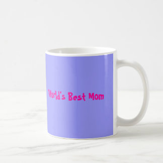 World's Best Mom Basic White Mug