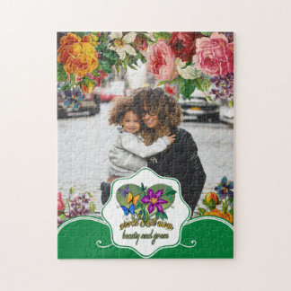 World's Best Mom Beauty and Grace Jigsaw Puzzle