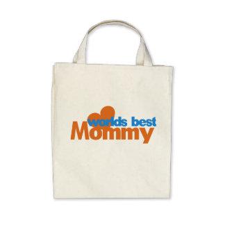 Worlds Best Mom Canvas Bag